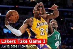 Lakers Take Game 3