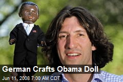 German Crafts Obama Doll
