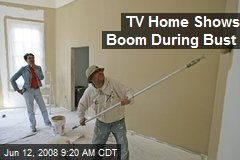 TV Home Shows Boom During Bust
