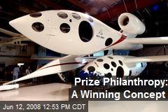 Prize Philanthropy: A Winning Concept