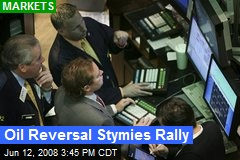 Oil Reversal Stymies Rally