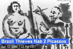 Brazil Thieves Nab 2 Picassos