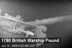 1780 British Warship Found