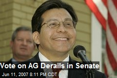 Vote on AG Derails in Senate
