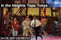 In the Heights Tops Tonys