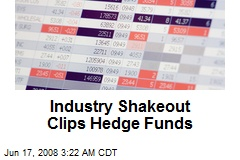 Industry Shakeout Clips Hedge Funds