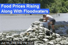 Food Prices Rising Along With Floodwaters
