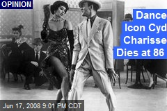 Dance Icon Cyd Charisse Dies at 86
