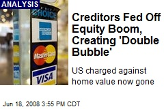 Creditors Fed Off Equity Boom, Creating 'Double Bubble'