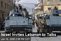 Israel Invites Lebanon to Talks