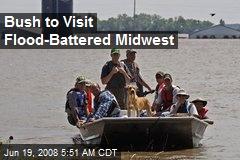 Bush to Visit Flood-Battered Midwest