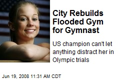 City Rebuilds Flooded Gym for Gymnast