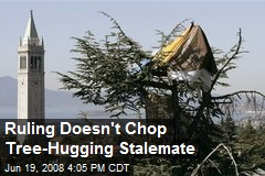 Ruling Doesn't Chop Tree-Hugging Stalemate