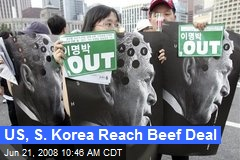 US, S. Korea Reach Beef Deal