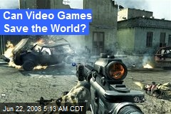 Can Video Games Save the World?