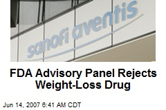 FDA Advisory Panel Rejects Weight-Loss Drug