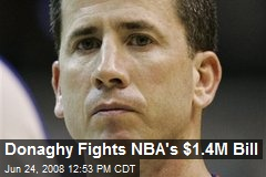 Donaghy Fights NBA's $1.4M Bill