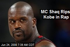 MC Shaq Rips Kobe in Rap