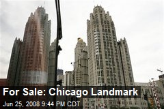For Sale: Chicago Landmark