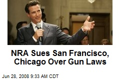 NRA Sues San Francisco, Chicago Over Gun Laws