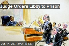 Judge Orders Libby to Prison