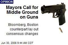 Mayors Call for Middle Ground on Guns