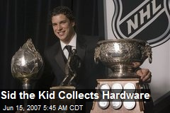 Sid the Kid Collects Hardware