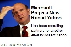 Microsoft Preps a New Run at Yahoo