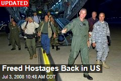 Freed Hostages Back in US