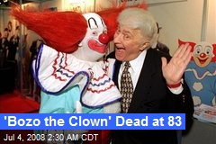 'Bozo the Clown' Dead at 83