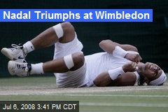 Nadal Triumphs at Wimbledon