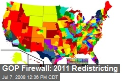 GOP Firewall: 2011 Redistricting