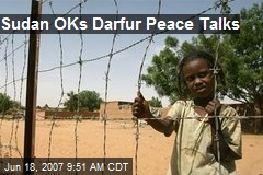 Sudan OKs Darfur Peace Talks
