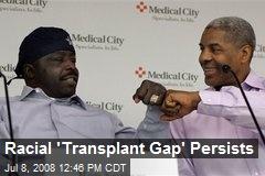 Racial 'Transplant Gap' Persists