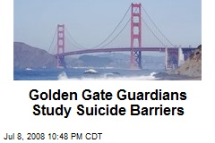 Golden Gate Guardians Study Suicide Barriers