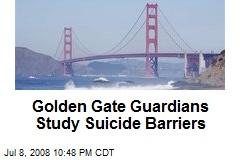 Golden Gate Guardians Study Suicide Barriers
