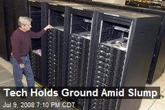 Tech Holds Ground Amid Slump