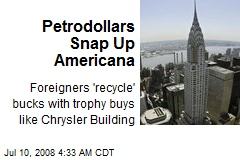 Petrodollars Snap Up Americana