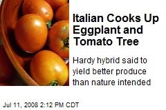 Italian Cooks Up Eggplant and Tomato Tree