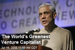 The World's Greenest Venture Capitalist