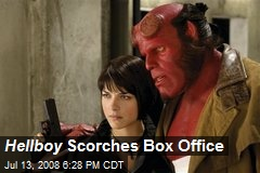 Hellboy Scorches Box Office