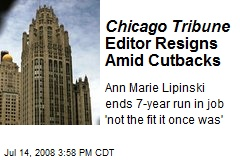 Chicago Tribune Editor Resigns Amid Cutbacks