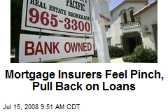 Mortgage Insurers Feel Pinch, Pull Back on Loans