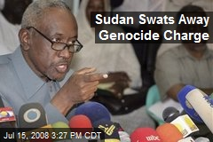 Sudan Swats Away Genocide Charge