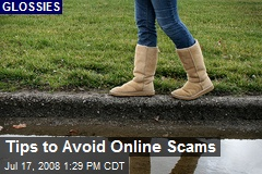 Tips to Avoid Online Scams