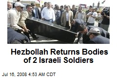 Hezbollah Returns Bodies of 2 Israeli Soldiers