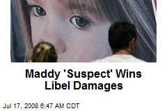 Maddy 'Suspect' Wins Libel Damages