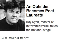 An Outsider Becomes Poet Laureate