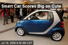 Smart Car Scores Big on Cute
