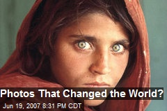 Photos That Changed the World?